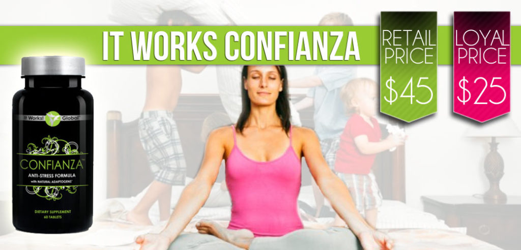 It Works Confianza Save 40%