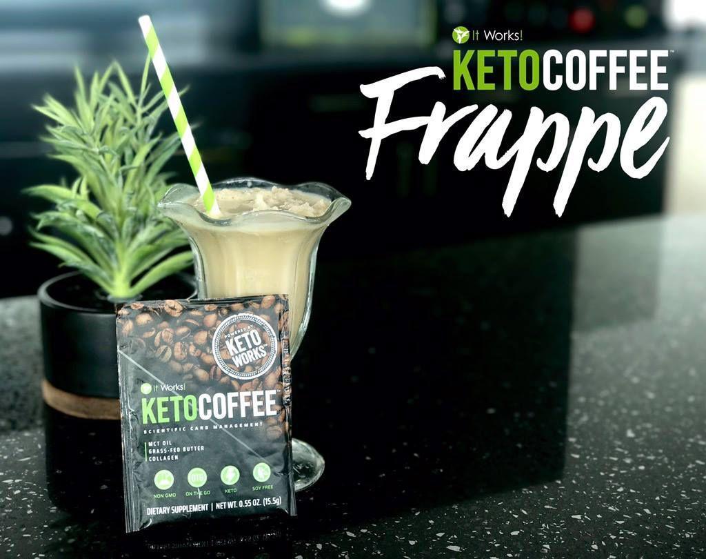 It Works Keto Coffee Frappe Recipe