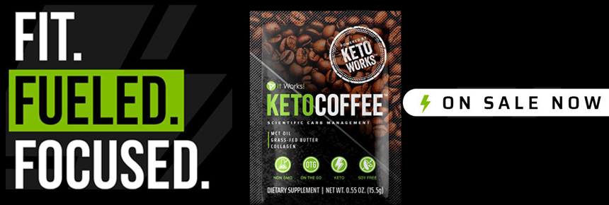 It Works Keto Coffee Banner