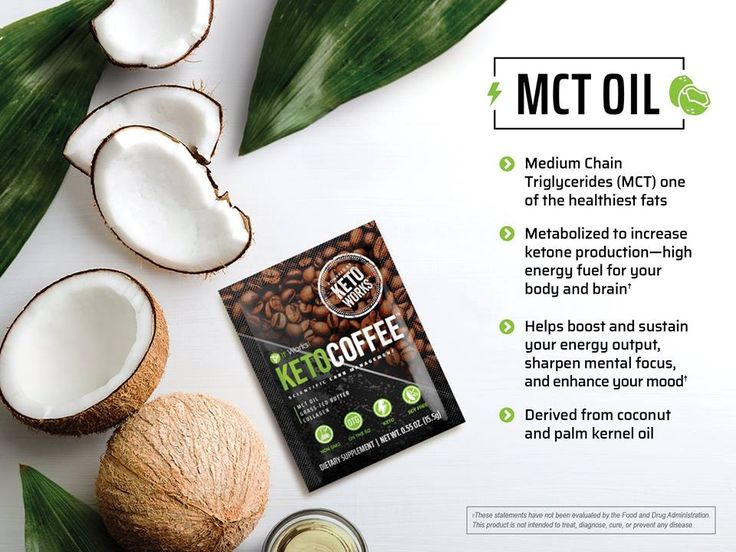 It Works Keto Coffee MCT Oil